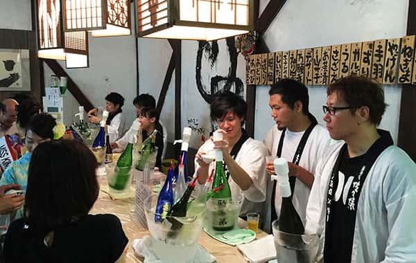 日本酒試飲